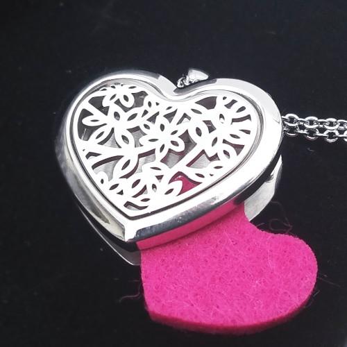 Arma šperk srdce s kvetmi 500x500