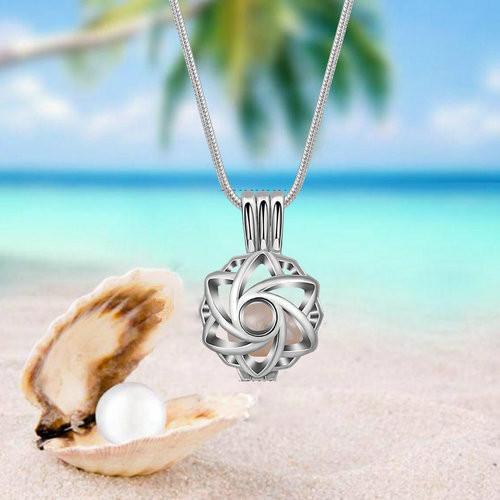 Aroma šperk morská panna postriebrený pláž