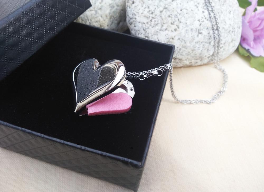 Aroma šperk srdce plné otvorené