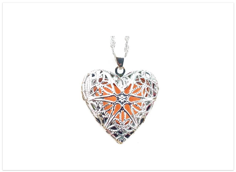 Aroma prívesok srdce ornament
