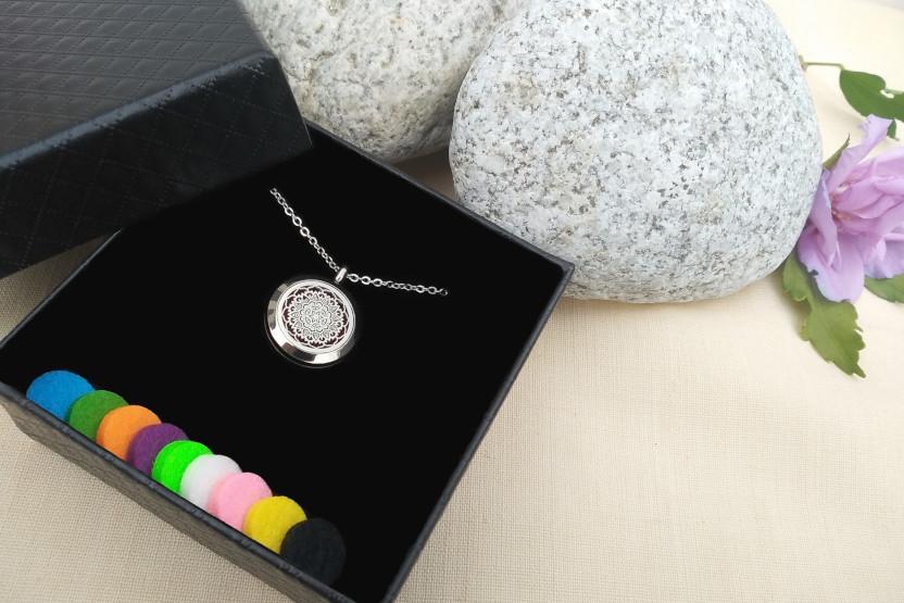 Aroma šperky - prírodná aromaterapia a šperky krabička