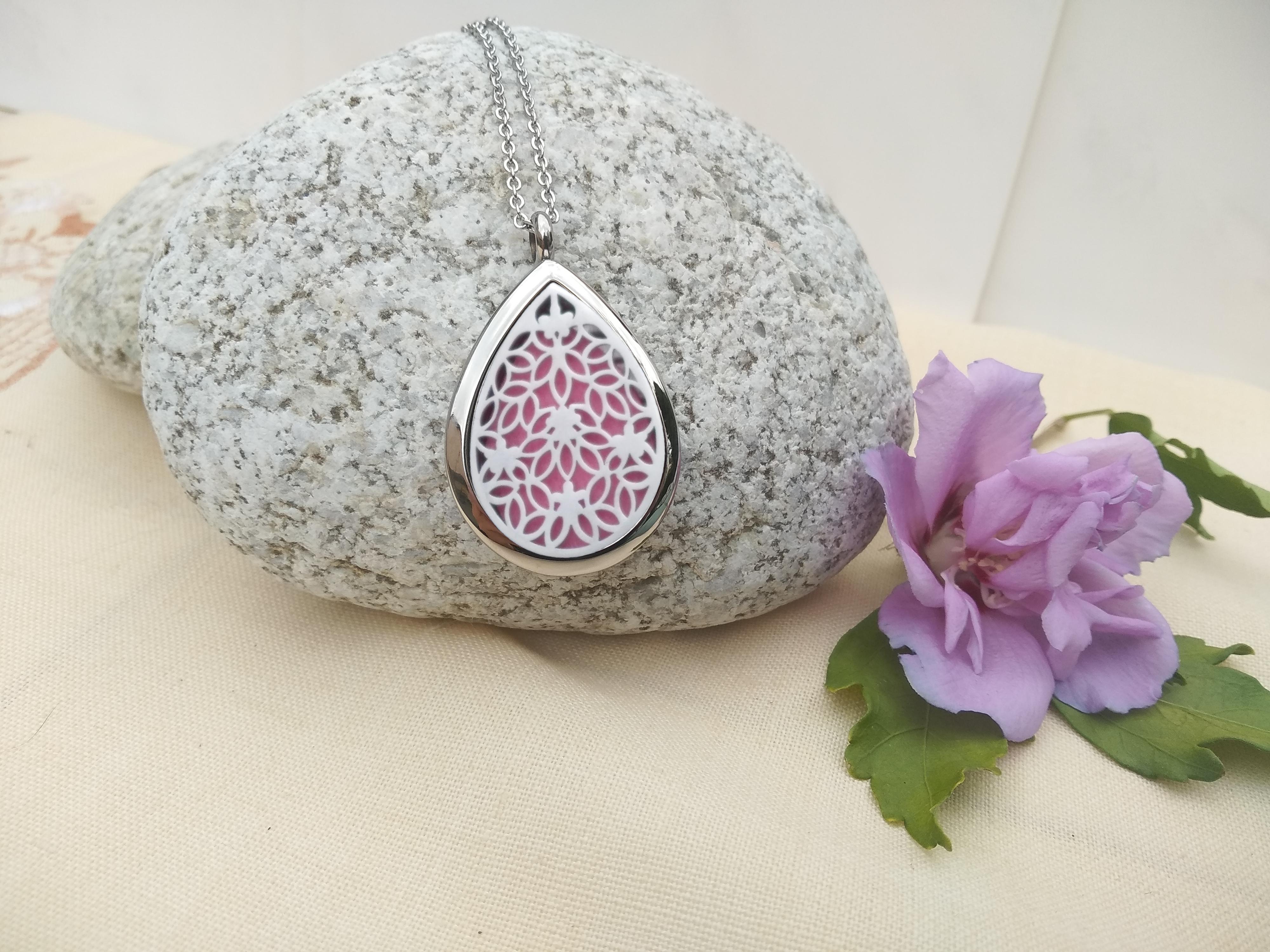 aroma šperk prívesok slza dekor