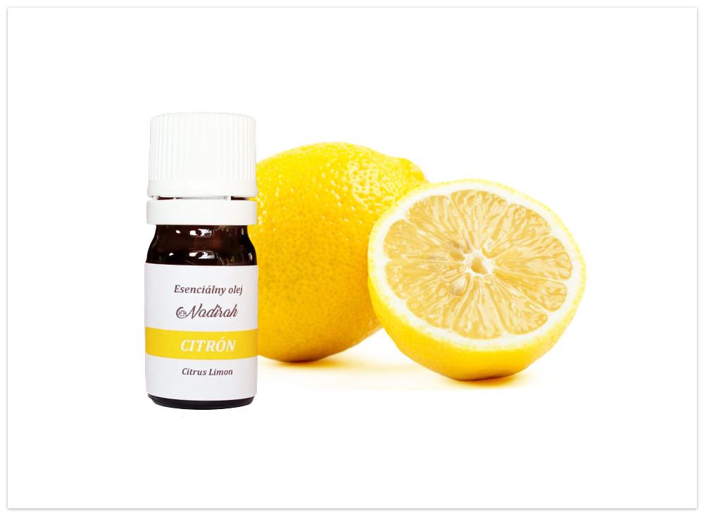 Esenciálny olej citron. nový