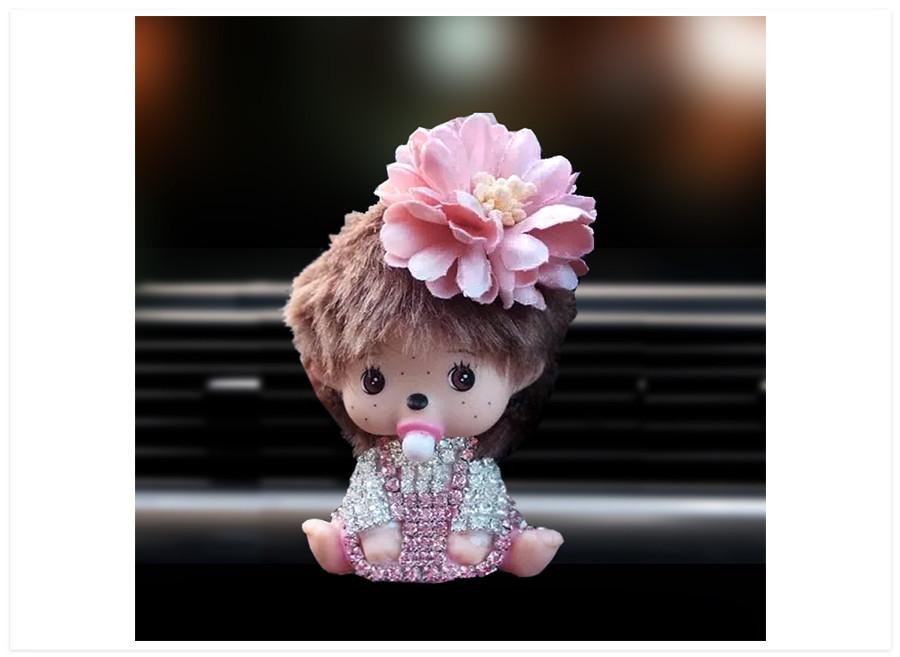 Aroma difuzer do auta bábika ružová