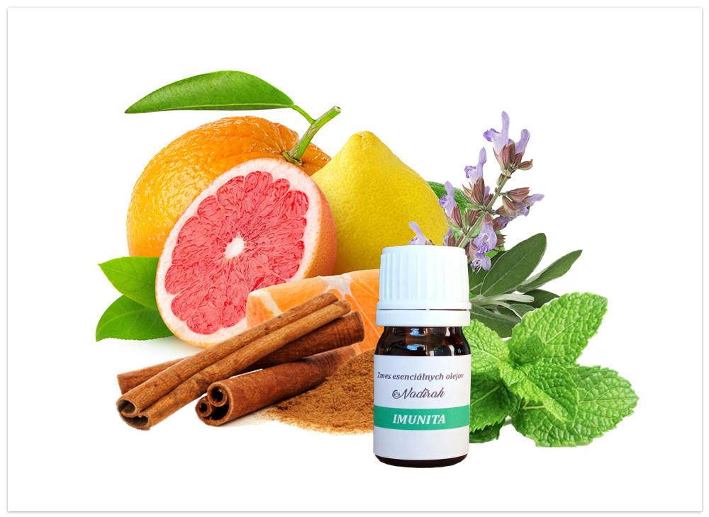 Imunita zmes esenciálnych olejov N