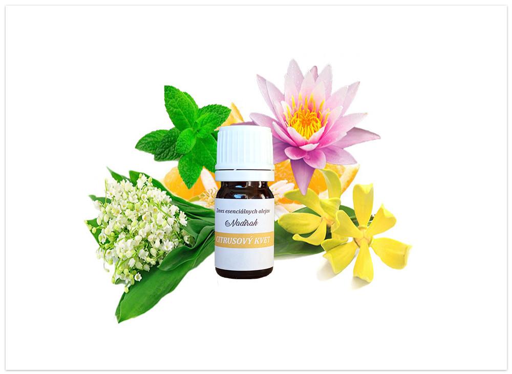 Zmes esenciálnych olejov citrusový kvet nová