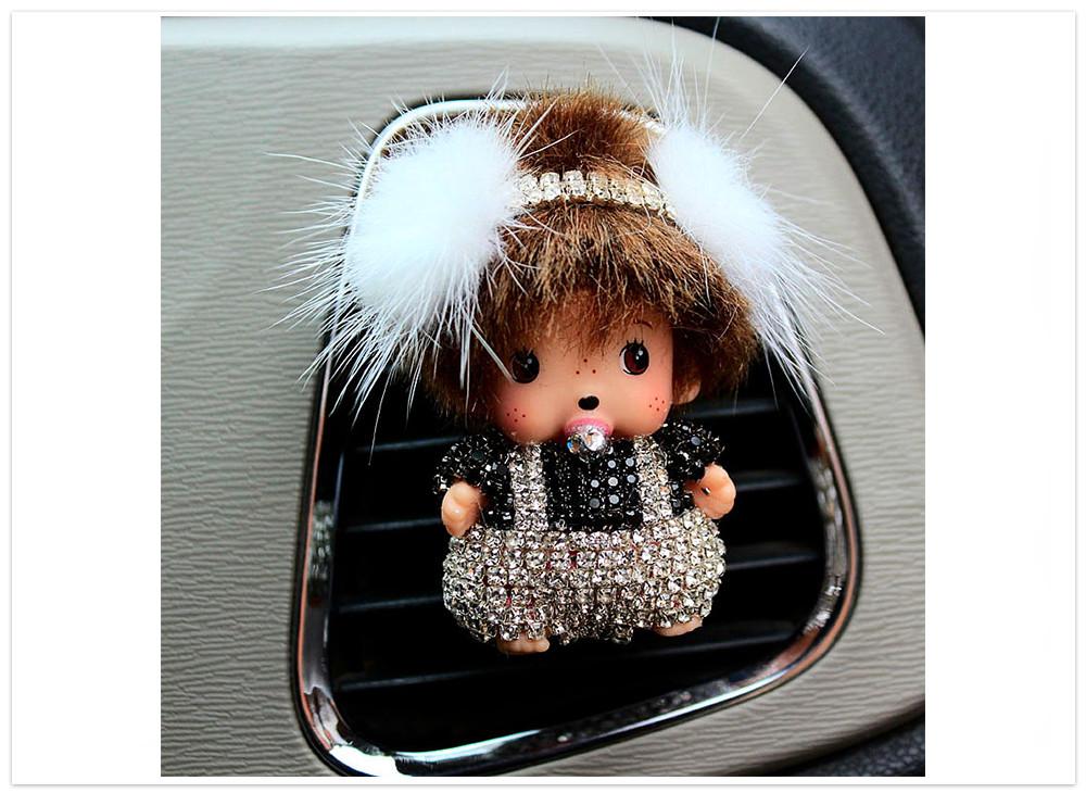 Difuzér do auta Bábika s klapkami biela