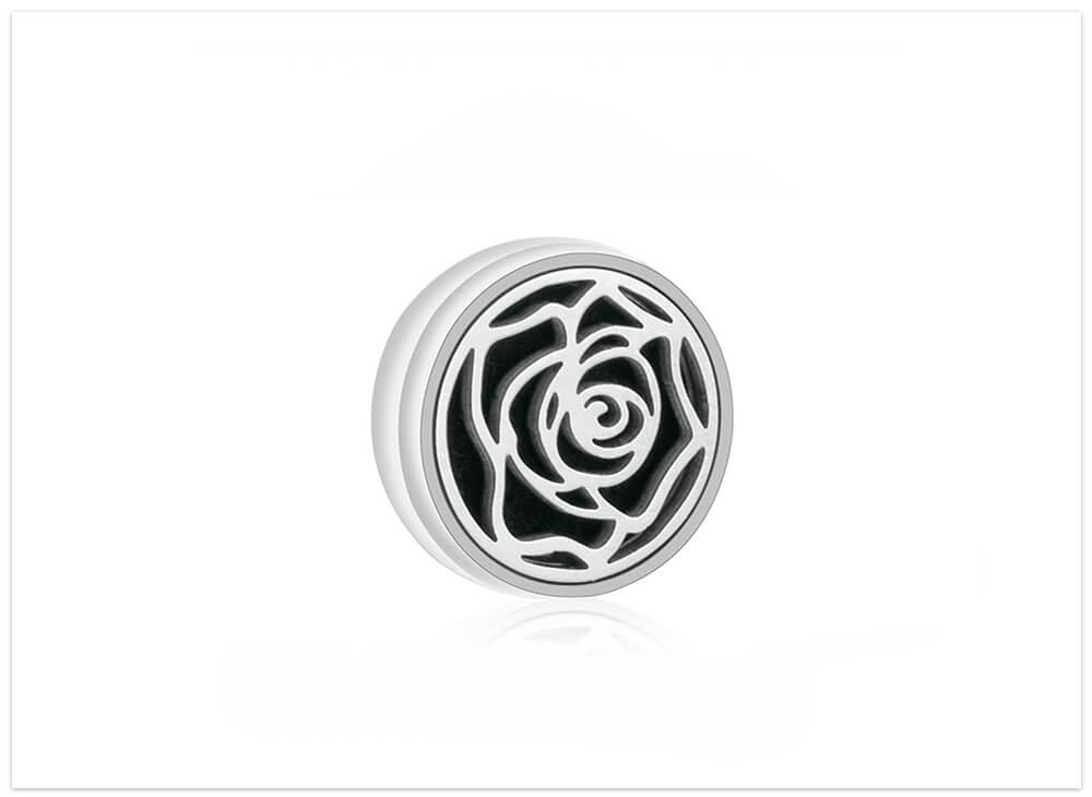 Aromatický magnet ruža na rúško